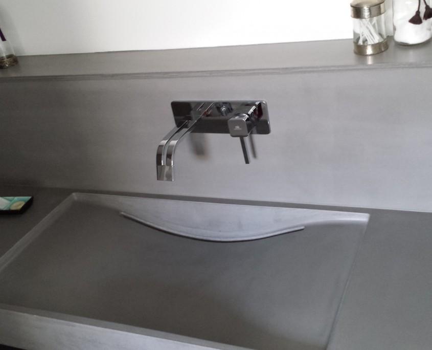 Plan vasque Ductal
