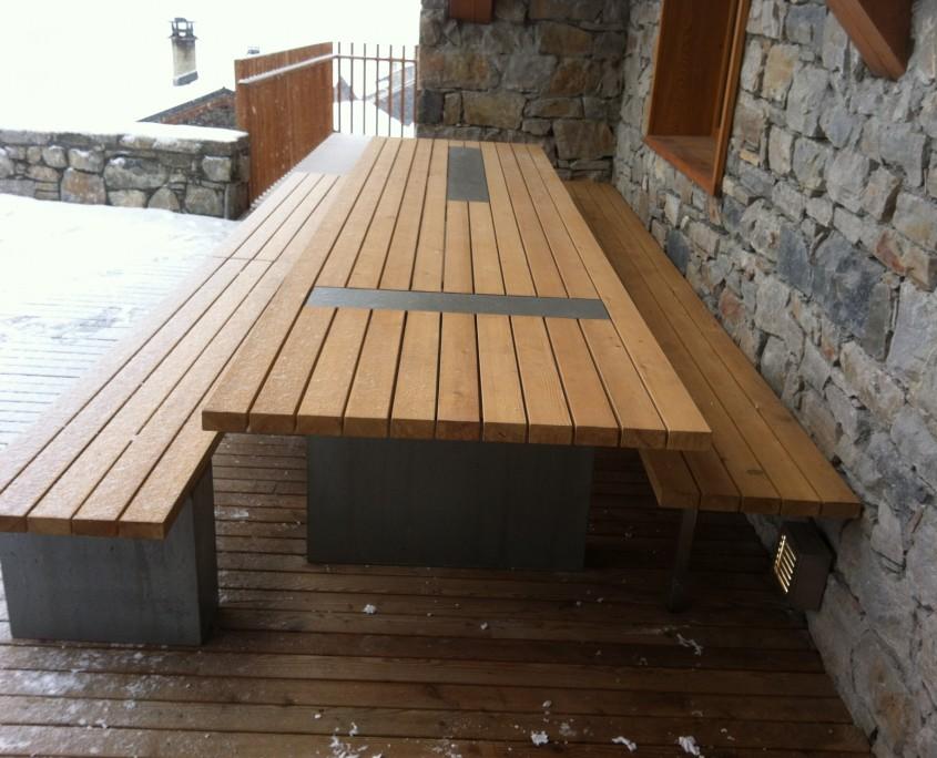 mobilier outdoor beton