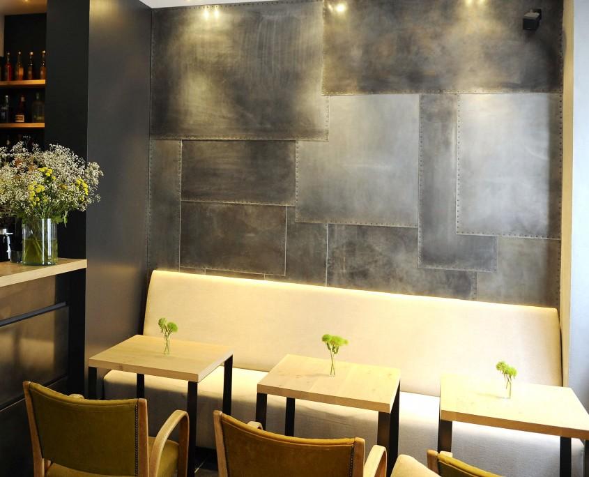 mur en métallisation
