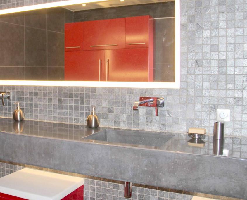 lavabo en béton décoratif