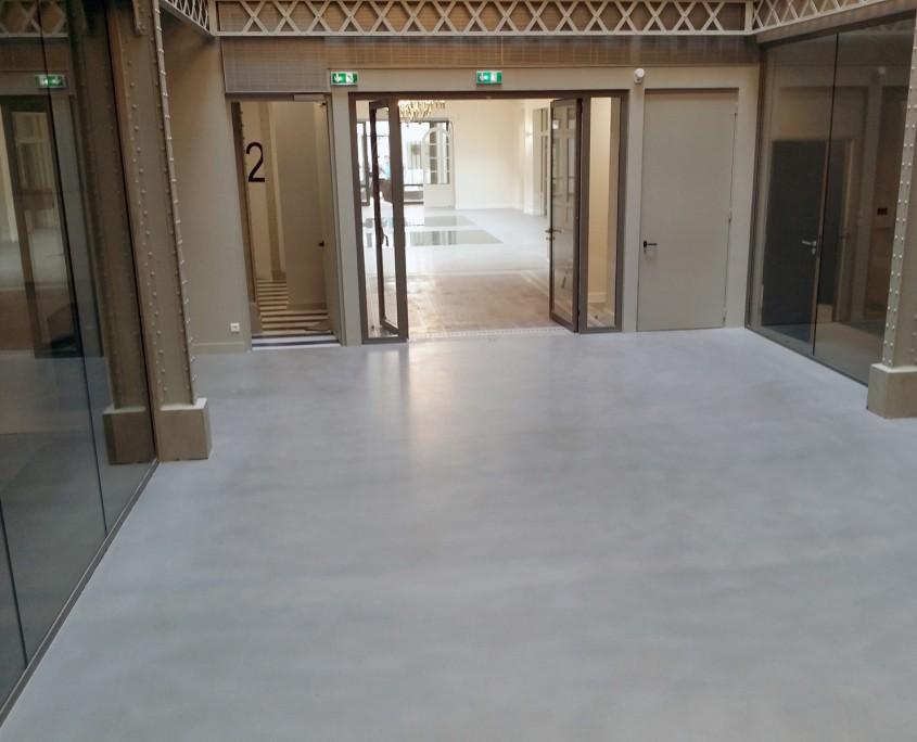 renovation sol béton ciré